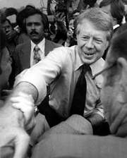Jimmy Carter Campaigns at Iowa State Fair