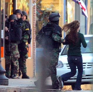 Hostage released at Hillary's Rochester, NH,office.