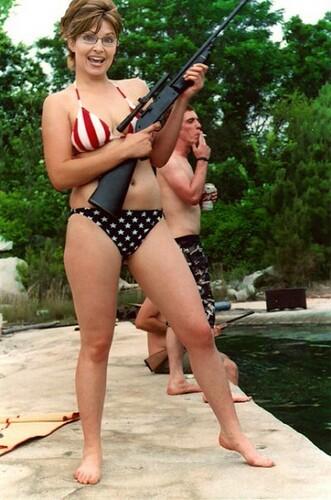 Sarah Palin Bikini Photo. of Sarah Palin in a ikini