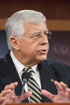 Mike Enzi, Republican senator from Wyoming, Pop 510,000 (2005)