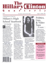 Hillary Clinton's High School Yearbook Issue