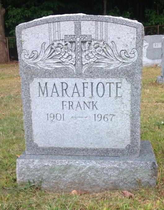 frank marafiote gravestone